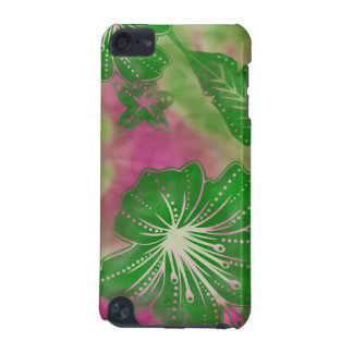 Bali Flower Batik Tropical iPod Touch Cases