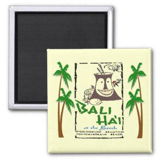 Bali Hai en la playa New Orleans de Pontchartrain Iman Para Frigorífico