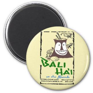 Bali Hai 2 Inch Round Magnet
