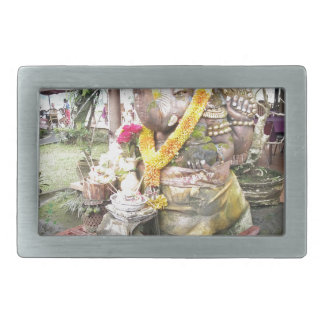 Bali Hindu Gods Rectangular Belt Buckle