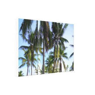 Bali Impresión En Lona Estirada