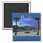 Bali Indonesia 2 Inch Square Magnet
