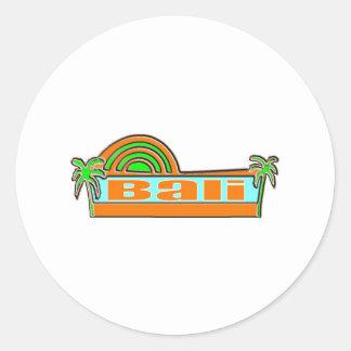 Bali, Indonesia Classic Round Sticker
