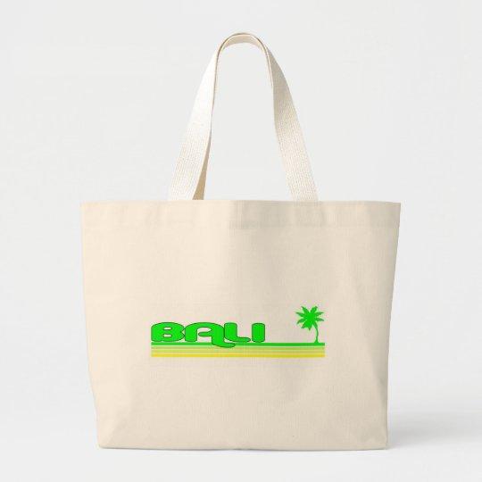 Bali, Indonesia Large Tote Bag