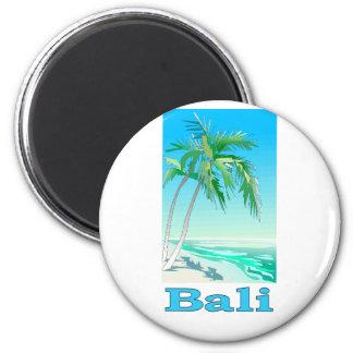 Bali, Indonesia 2 Inch Round Magnet