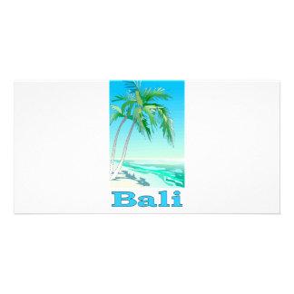 Bali, Indonesia Photo Card