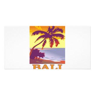 Bali, Indonesia Photo Card Template