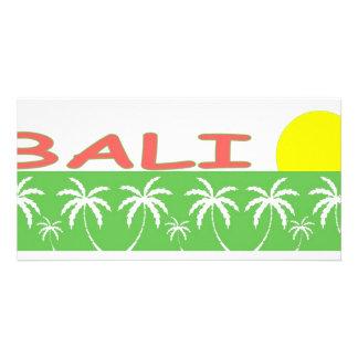 Bali, Indonesia Picture Card