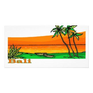 Bali, Indonesia Customized Photo Card