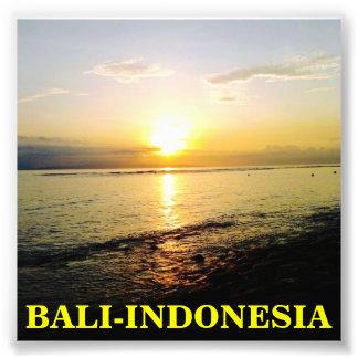 Bali, Indonesia, poster, impresión de la foto Cojinete