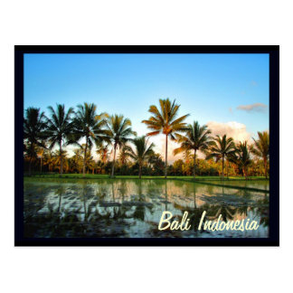 Bali Indonesia Tarjeta Postal