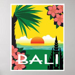 Bali Vintage Travel Posters Photo Prints Zazzle