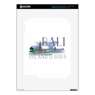 Bali Island Of Gods Decals For iPad 3