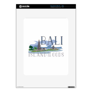 Bali Island Of Gods Skins For iPad