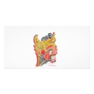 Bali mask card