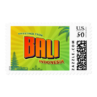 Bali Postage Stamps