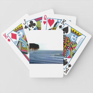 Bali que practica surf cartas de juego