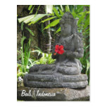 Bali Statue  Postcard