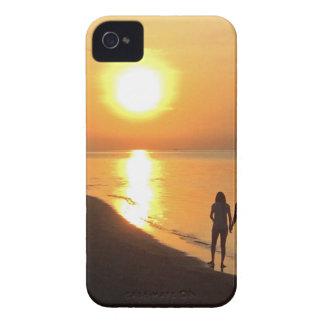 Bali sunrise on the beach iPhone 4 cover