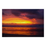 bali sunset indonesia print