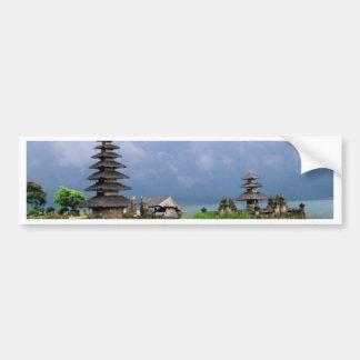 bali temple indonesia bumper sticker