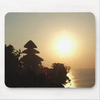 Bali temple mouse pad
