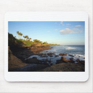 Bali tropical scenic coast at Tanah Lot Mousepads