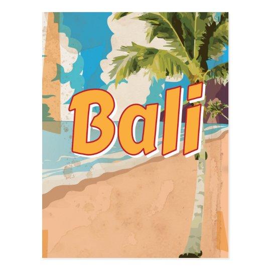 Bali Vintage Travel Poster Postcard Zazzle Com