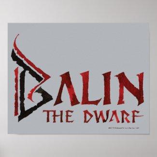 Balin Name Posters