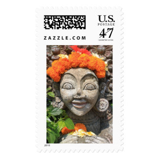 Balinese art postage