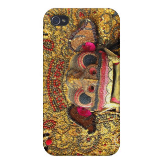 Balinese Barong 2 Case For iPhone 4