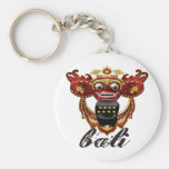 Balinese Barong Indonesia Souvenir Basic Round Button Keychain