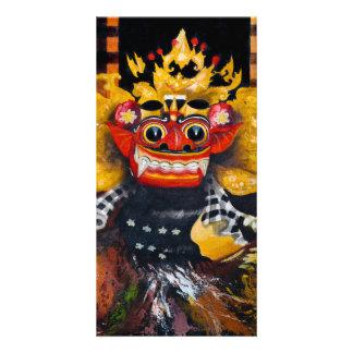 Balinese Barong Photo Card