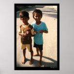Balinese Boys Print