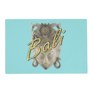 Balinese Carved Mask Placemat