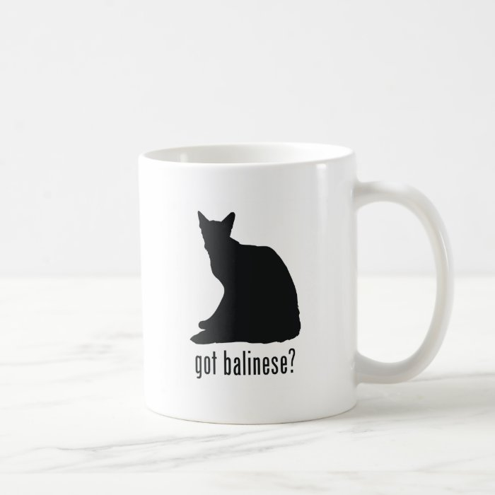 Balinese Cat Coffee Mug