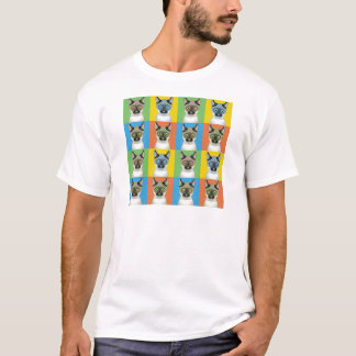 Balinese Cat Pop-Art T-Shirt