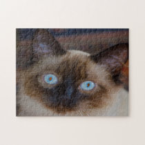 Balinese Cats. Jigsaw Puzzle