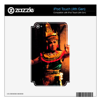 Balinese dance decal for iPod touch 4G