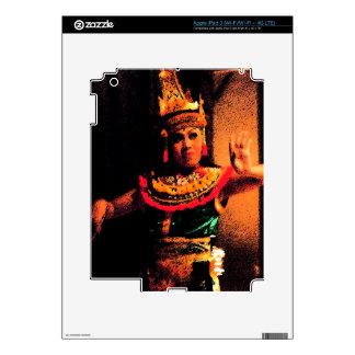 Balinese dance iPad 3 skins