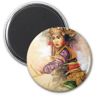 Balinese dancer magnet
