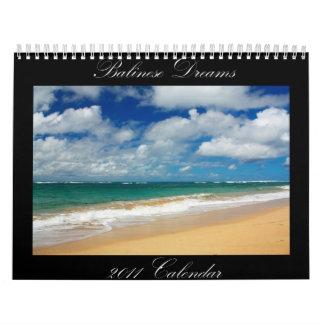 Balinese Dreams Calendar