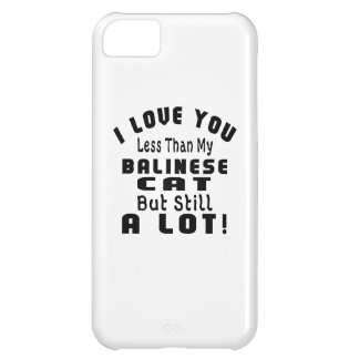 BALINESE FUNNY DESIGNS iPhone 5C CASES