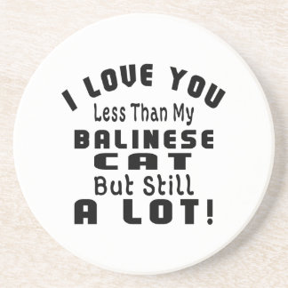 BALINESE FUNNY DESIGNS DRINK COASTER