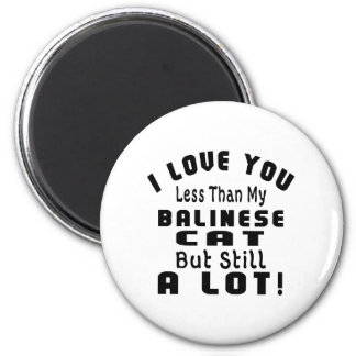 BALINESE FUNNY DESIGNS 2 INCH ROUND MAGNET