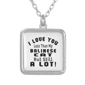 BALINESE FUNNY DESIGNS SQUARE PENDANT NECKLACE