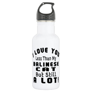 BALINESE FUNNY DESIGNS 18OZ WATER BOTTLE