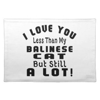 BALINESE FUNNY DESIGNS CLOTH PLACE MAT