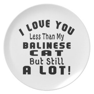 BALINESE FUNNY DESIGNS DINNER PLATE
