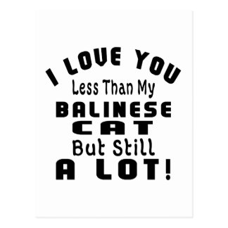 BALINESE FUNNY DESIGNS POSTCARD
